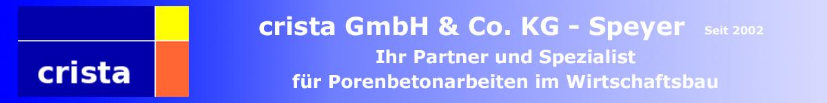 crista GmbH & Co. KG Speyer Porenbeton